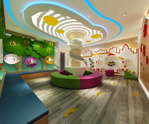 现代展厅3D模型【ID:724889570】