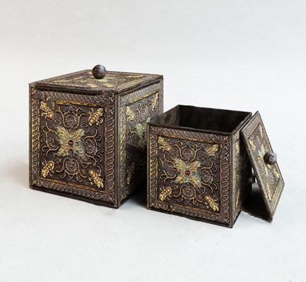 古典收纳盒3D模型【ID:120615263】