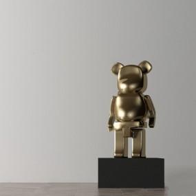 现代雕塑3D模型【ID:528283269】