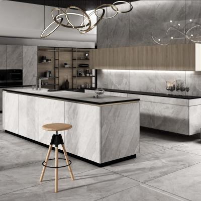现代厨房橱柜3D模型【ID:128397419】