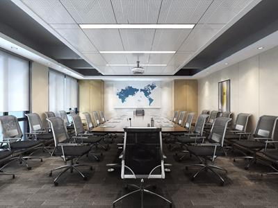 現代會議室3D模型【ID:720803813】