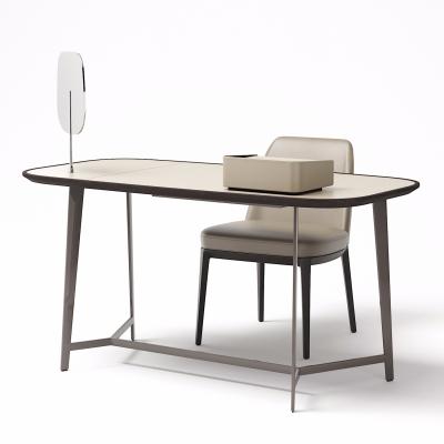 現代書桌椅3D模型【ID:128414901】