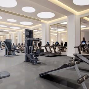 现代健身房3D模型【ID:927975602】