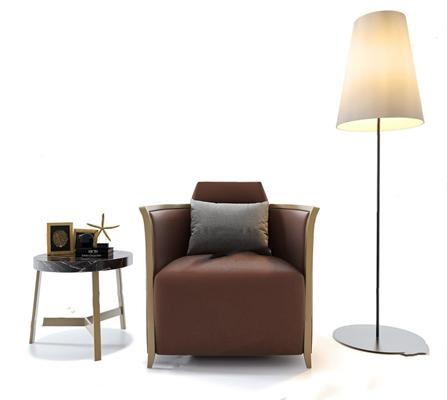北欧单人沙发3D模型【ID:928199678】