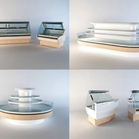 现代货架3D模型【ID:326231564】