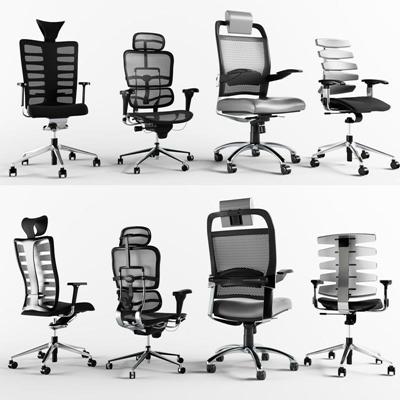 辦公椅3D模型【ID:227884928】