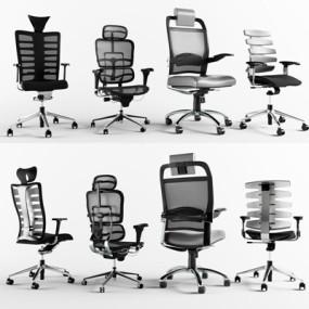 办公椅3D模型【ID:227884928】