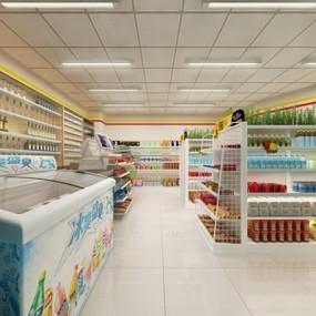 联合超市3D模型【ID:828125081】