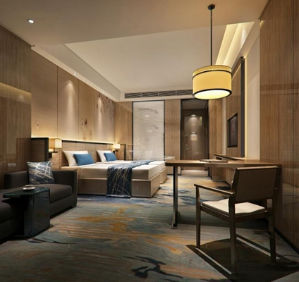 酒店客房3D模型【ID:427956620】