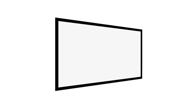 投影仪屏幕16:9SU模型【ID:939409664】