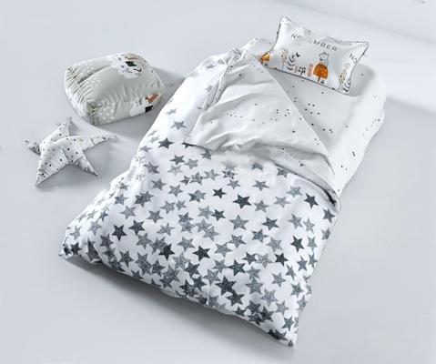 儿童床3D模型【ID:628047983】