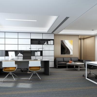 现代总经理办公室3D模型【ID:727813538】