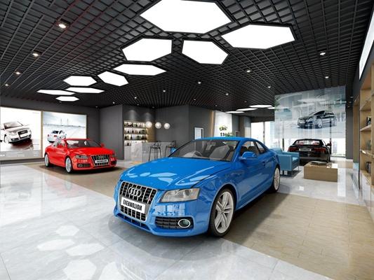 奧迪汽車專賣店3D模型【ID:528285482】