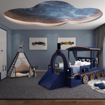 现代卧室儿童房3D模型【ID:127761270】