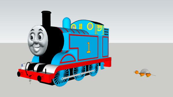 ?#26032;?#26031;坦克引擎与玩具故事狗大小比较SU模型【ID:639418756】