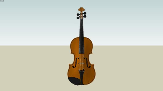 古典小提琴SU模型【ID:939423153】
