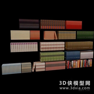 书国外3D模型【ID:929858026】