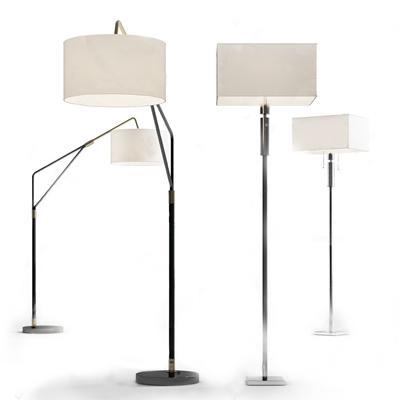 現代簡約落地燈3D模型【ID:628297293】