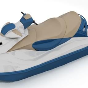 现代摩托艇3D模型【ID:626225014】