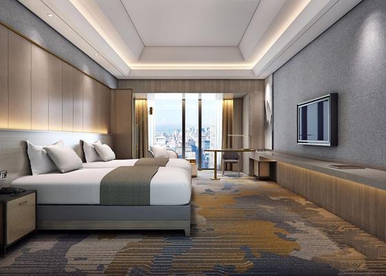新中式酒店标间3D模型【ID:428259631】
