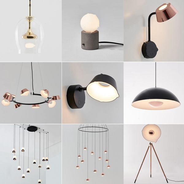 現代壁燈落地燈吊燈3D模型【ID:748244893】