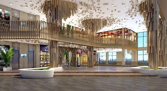 現代商場入口3D模型【ID:120802742】