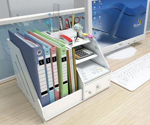 現代辦公文具3D模型【ID:120607656】