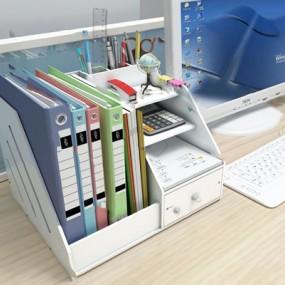 现代办公文具3D模型【ID:120607656】