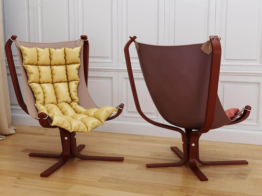 现代狩猎椅3D模型【ID:227886617】