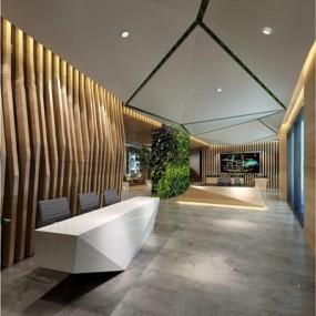现代时尚售楼中心前厅大堂3D模型【ID:428257590】