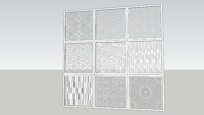 马什拉比PNG屏幕1X1M集1SU模型【ID:939448695】