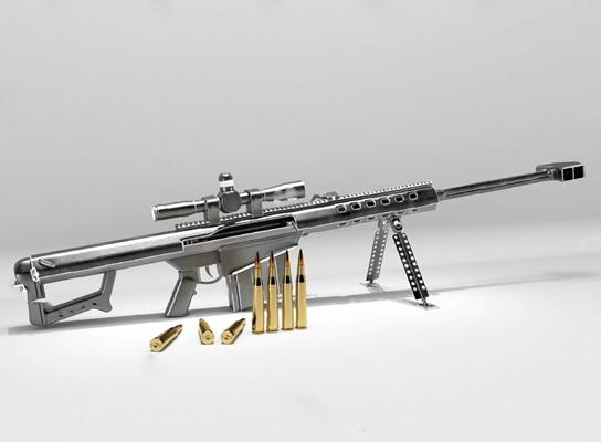 枪3D模型【ID:120025856】