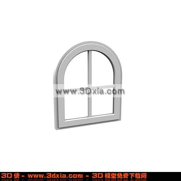 可爱的3D小窗模型3D模型【ID:1094】