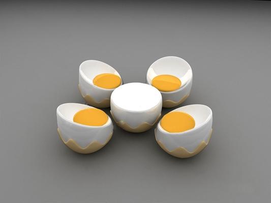 现代桌椅组合3D模型【ID:320027540】
