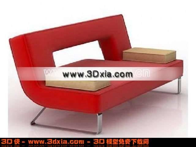 现代风格沙发条3D模型下载【ID:111】