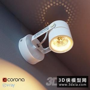 射燈國外3D模型【ID:929308160】