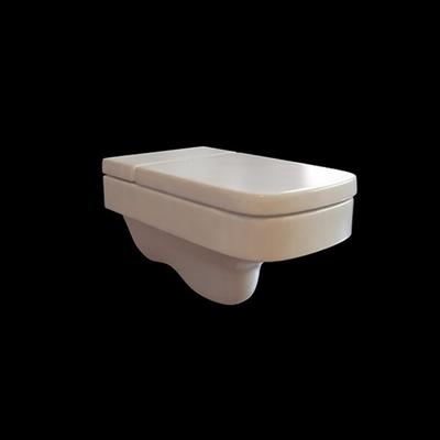 白色马桶3D模型【ID:115051970】