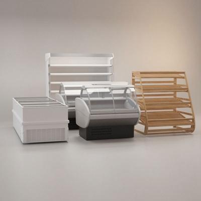 白色冰箱3D模型【ID:115057216】