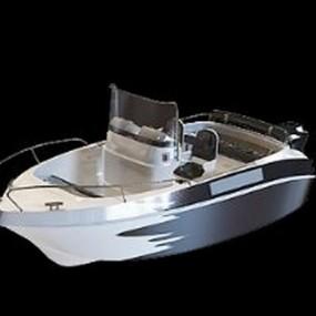 白色快艇3D模型【ID:115063152】
