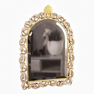 金色金属镜子墙饰3D模型【ID:115066942】