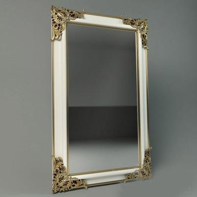 长方形镜子墙饰3D模型【ID:115066975】