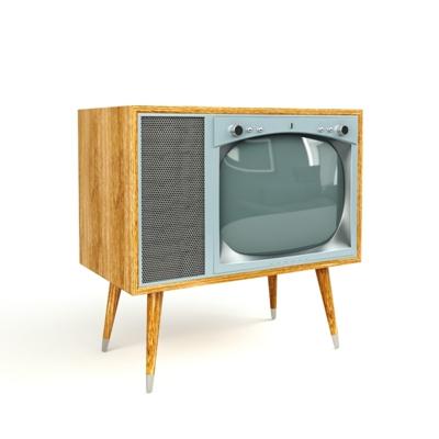 黄色电视3D模型【ID:115233389】
