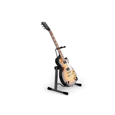 棕色木艺吉他3D模型【ID:115242039】