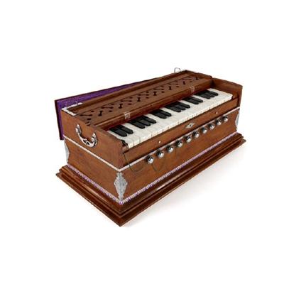 棕色木艺琴3D模型【ID:115243575】