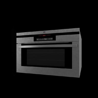 灰色烤箱3D模型【ID:115282802】