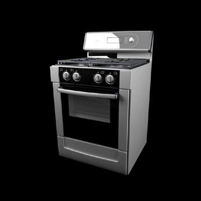 灰色烤箱3D模型【ID:115282805】