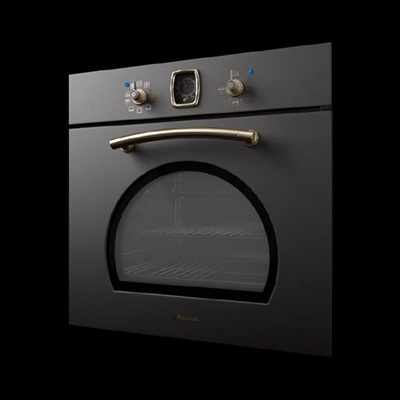 灰色烤箱3D模型【ID:115282808】