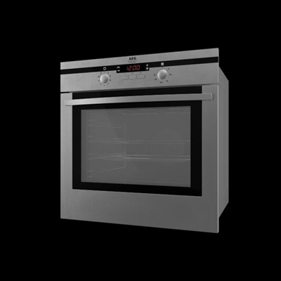 灰色烤箱3D模型【ID:115282809】