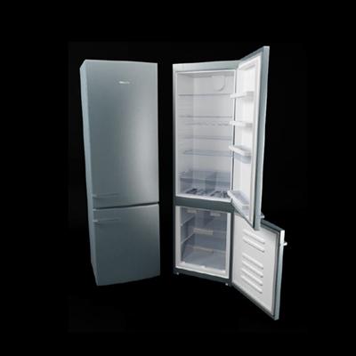 灰色冰箱3D模型【ID:115283246】