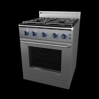 灰色烤箱3D模型【ID:115283818】